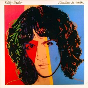 Billy Squier – Emotions In Motion LP Record Vinyl